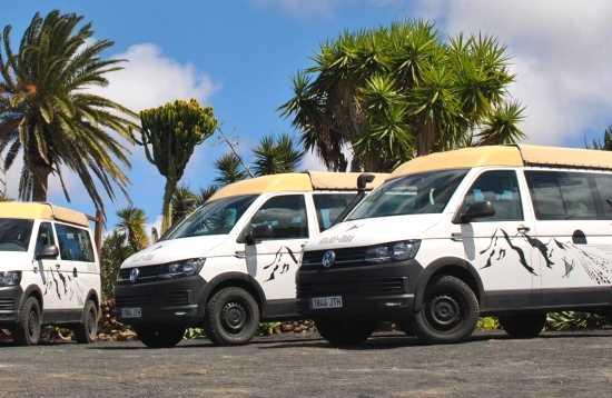 Minibus Tour von Lanzarote nach Fuerteventura