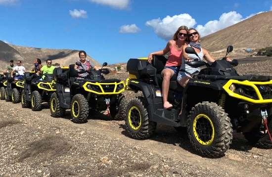 2,0 Stunden Outlander QUAD Tour Lanzarote