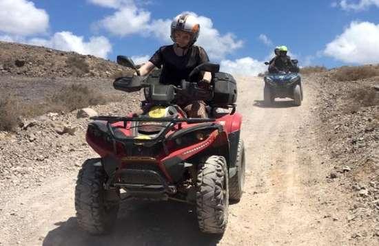 1 Stunden Quad Tour ab Playa Blanca