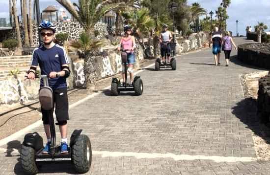 1,5 Stunden Segway Tour Playa Blanca Lanzarote